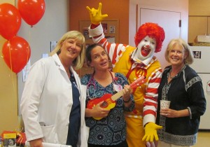 Family Room Anniversary with Ronald McDonald