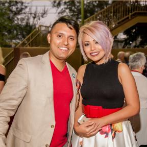 Carlos and Yamilka at 2016 House Party