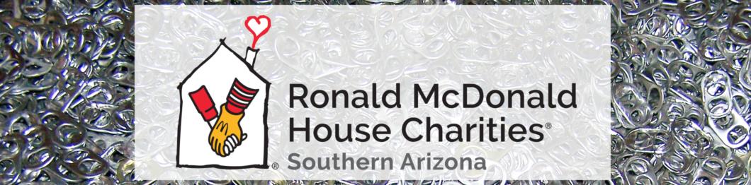 RMHC Logo over pop tabs