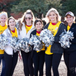 salpointe catholic cheer team gathers for a photo at walk for kids