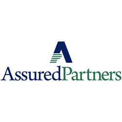 Assured Partners ith a Blue stylized A and green stripes