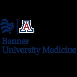 Blue Banner heart with UArizona Block A - Banner University Medicine