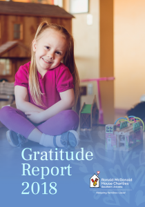 Gratitude Report 2018 - picture of Isabella