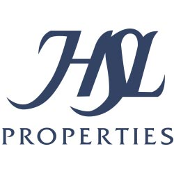 HSL Properties logo with blue writing