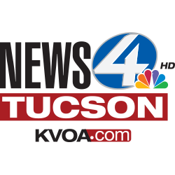 KVOA logo with black and red writing