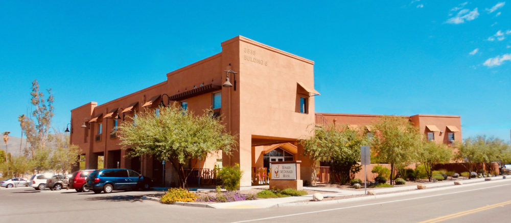 exterior view of the ronald mcdonald house of southern arizona during a clear sky day