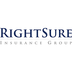 Rightsure Insurance Group logo purple wording on white background