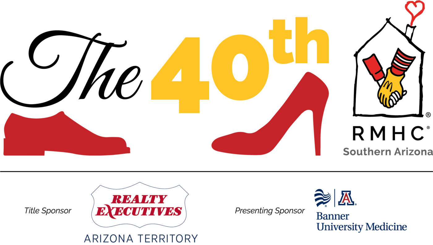 The 40th with RMHC Southern Arizona logo - Title sponsor Realty Executives Arizona Territory, presenting sponsor Banner University Medicine