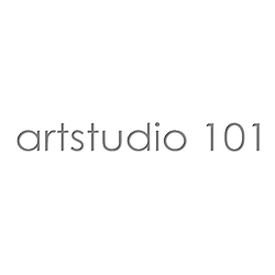 artstudio 1010 logo in black writing with white background